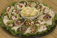 Wrap tray